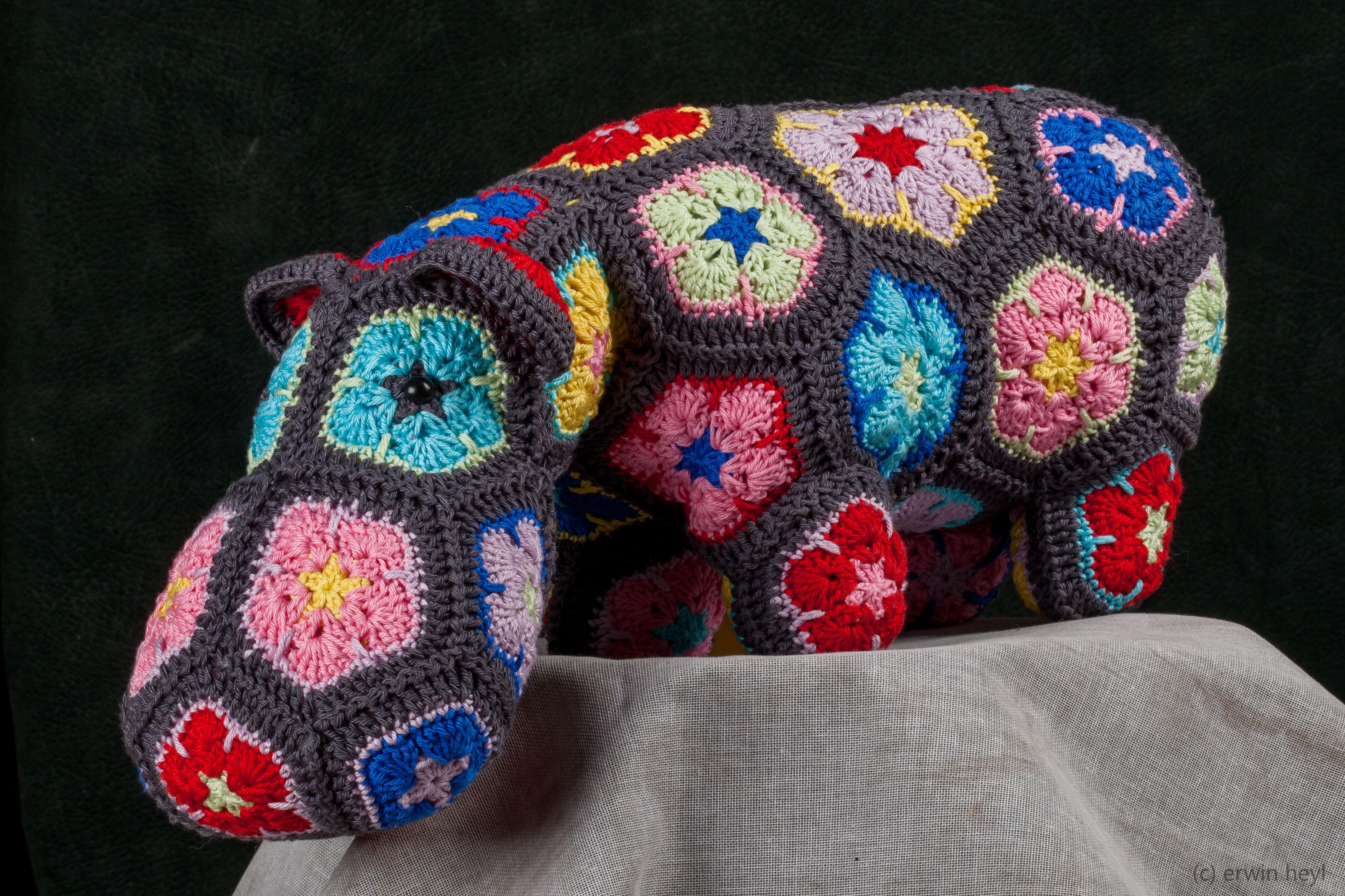 Nijlpaard Handmadepassion