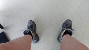 Deze voeten moeten het doen